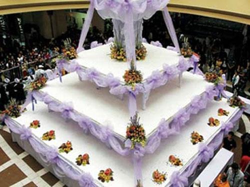 أكبر تورتة زفاف في العالم