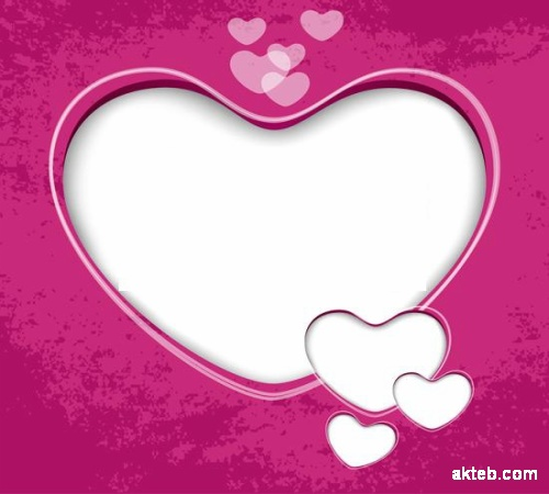 شكل قلب حالمة شكل قلب وردي 6