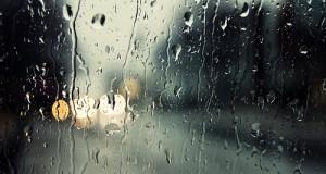 قطرات المطر