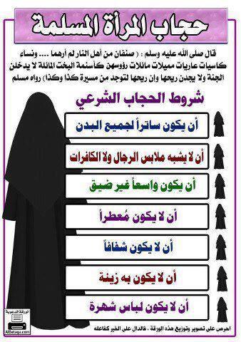 حجاب المراة المسلمة