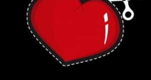 قلب احمر