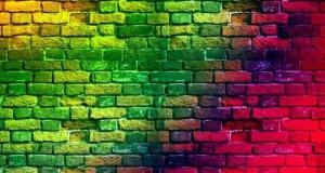حائط ملون