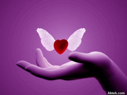 قلب علي يد