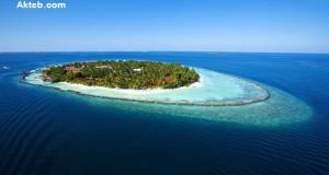 جزيرة في البحر