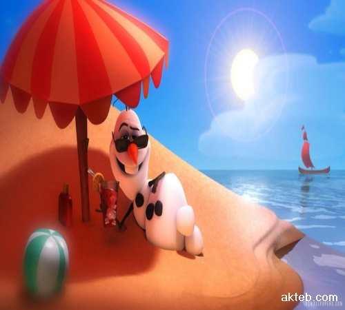 اكتب اسمك على صور حر الصيف