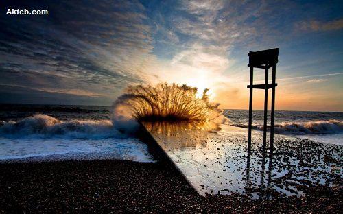 موج البحر
