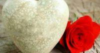 ورود وقلوب رومانسية