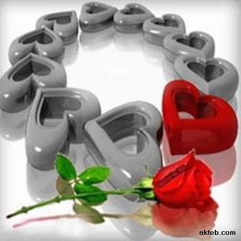 قلوب رومانسية